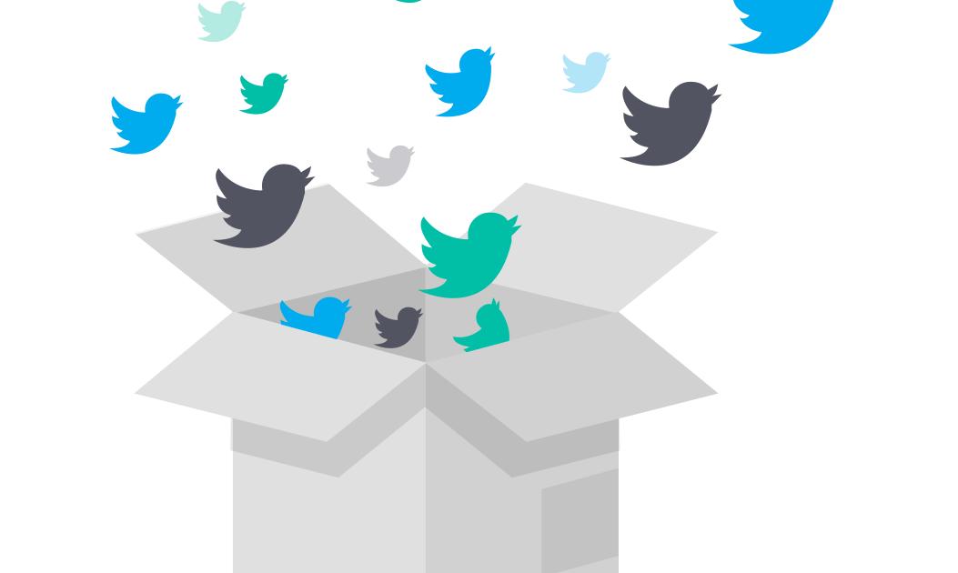 Twitterを始めたら大量のDMが!