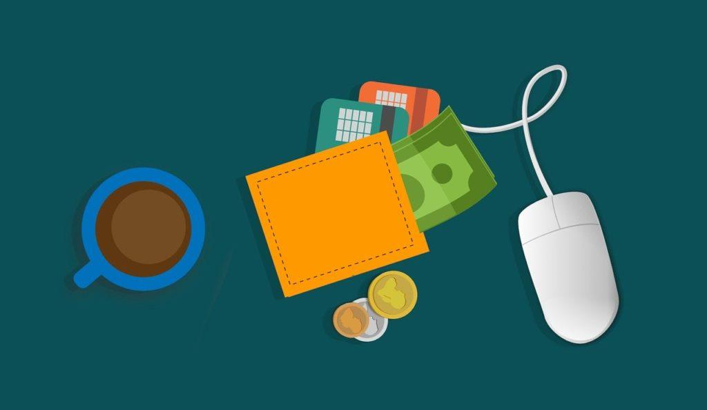 マウスと財布