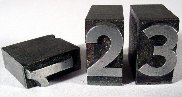 1,2,3のブロックのうち1だけ倒れてる