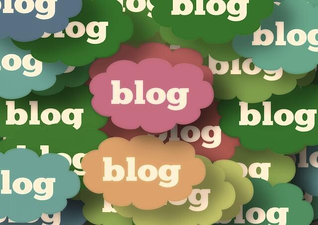 たくさんのブログ雲